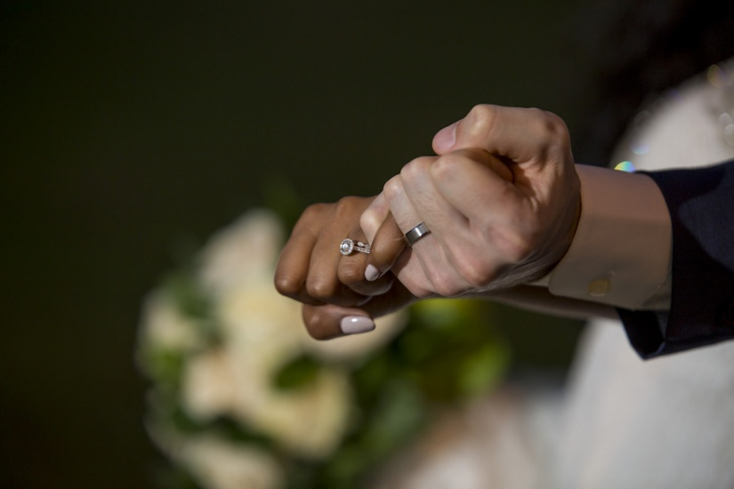 Jamaica Wedding Photography Rings and Hands