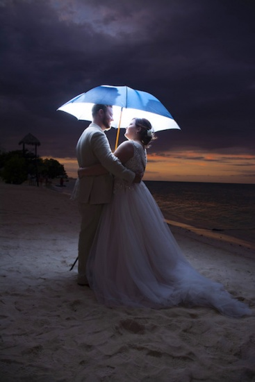 Jamaica Wedding Photography Bride and groom enlightened