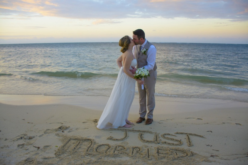 Just Married - Wedding photography in Jamaica