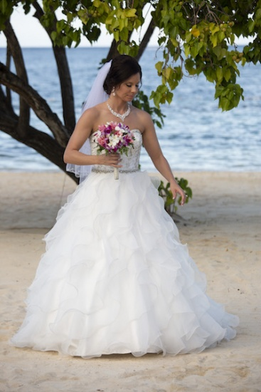 The bride - Wedding photography in Jamaica
